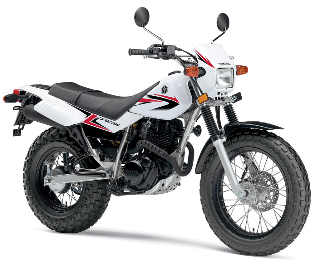 Motorcycle Review Top Speed: 2010 Yamaha TW200 Review