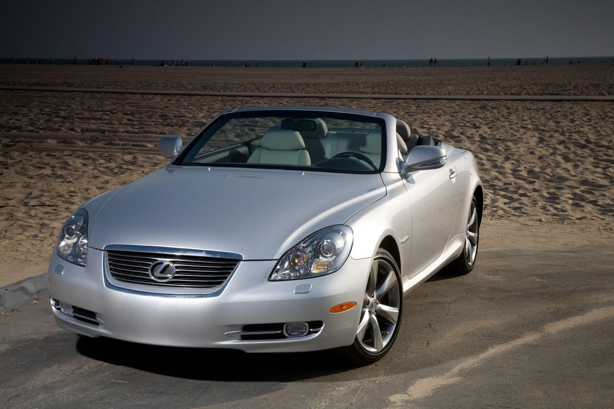 Lexus sc430 top speed