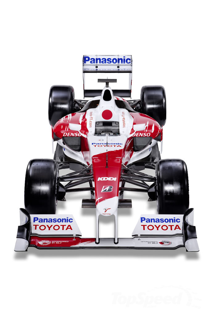 formula 1 cars 2010. 2010 Toyota F1 car up for sale
