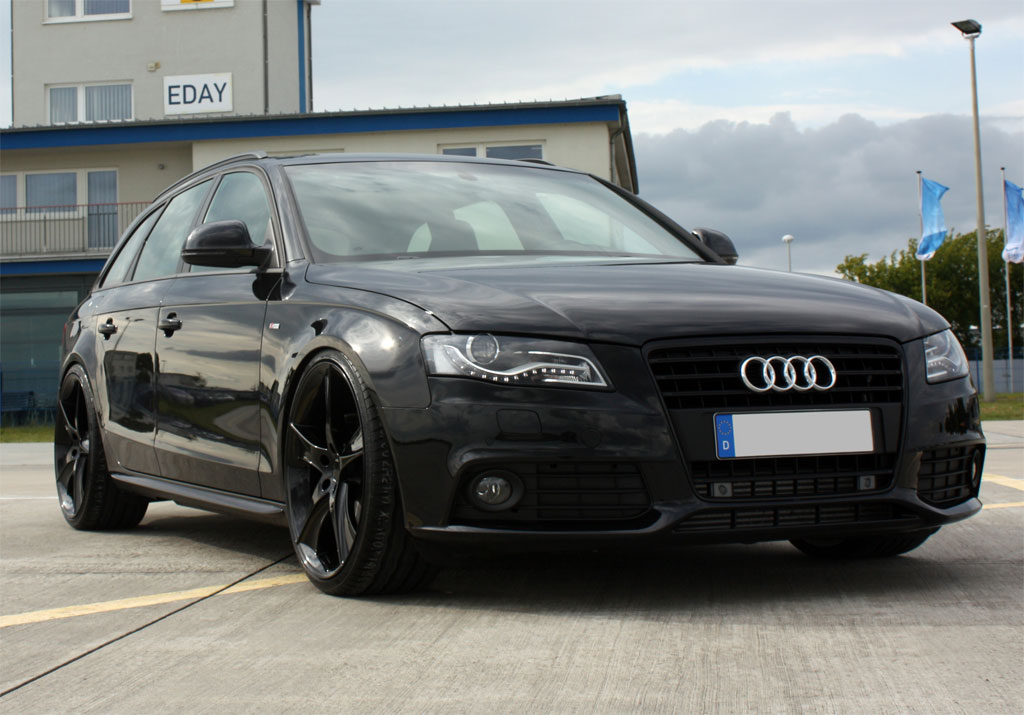 A4 Avant Black Edition ordered | Audi-Sport.net