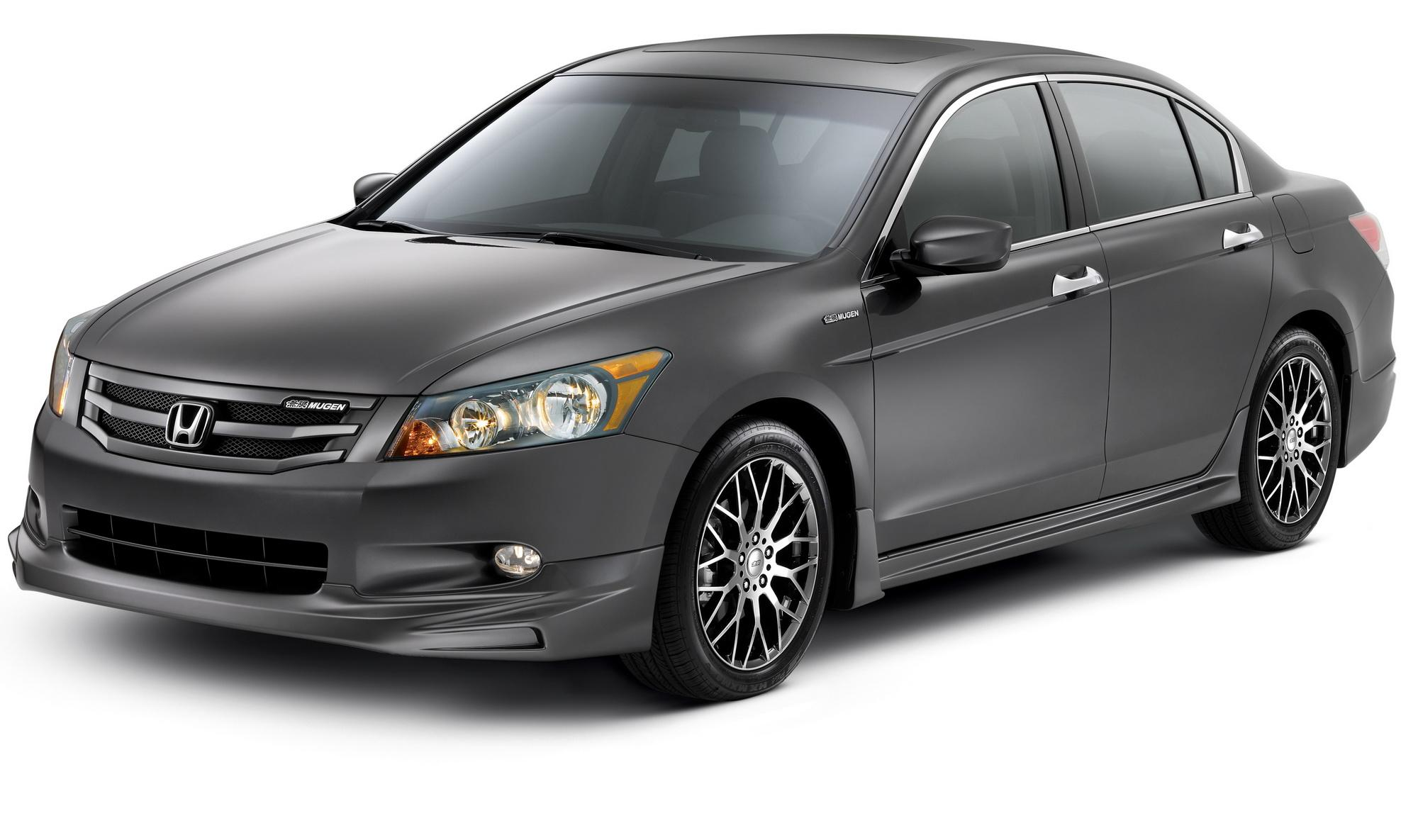 2009 honda accord sedan by mugen review top speed for All black honda accord