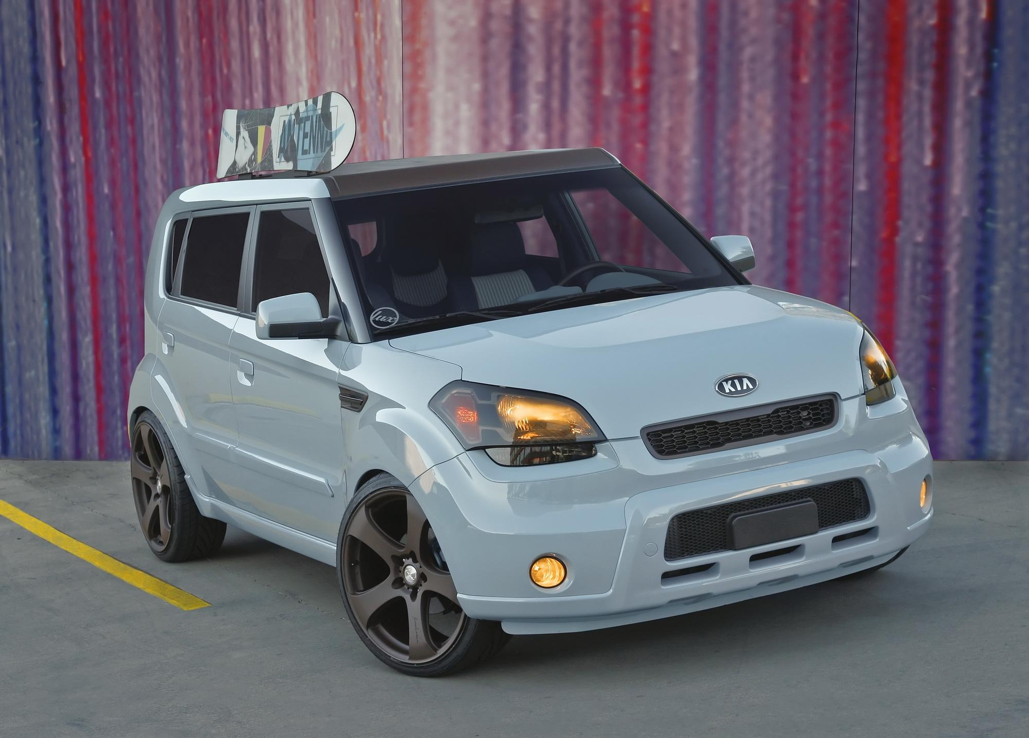 2009 Kia Antenna Soul Top Speed
