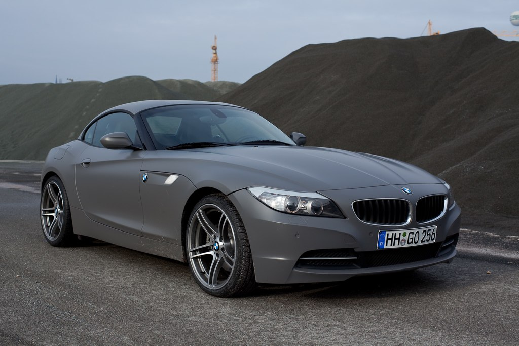 Matte Gray Bmw Z4 Top Speed