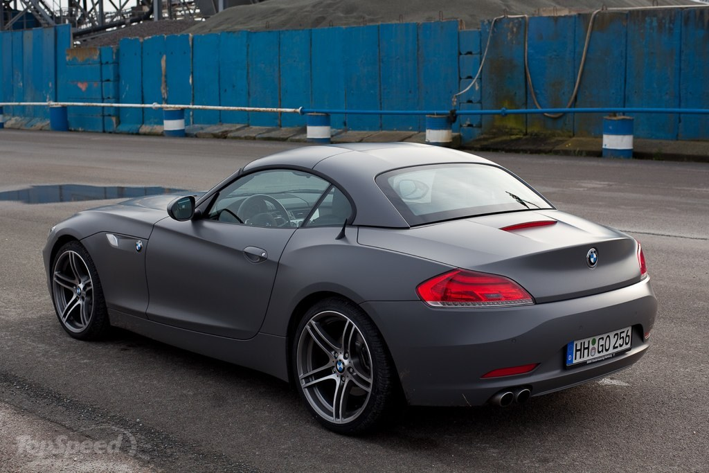 Matte Gray Bmw Z4 Picture 333447 Car News Top Speed