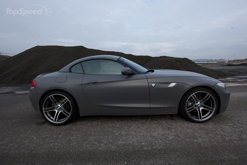 Matte Gray Bmw Z4 Picture 333448 Car News Top Speed