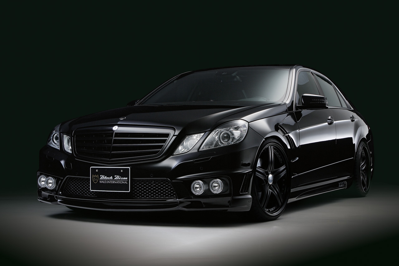 Mercedes E Class Black Bison Edition By Wald Top Speed