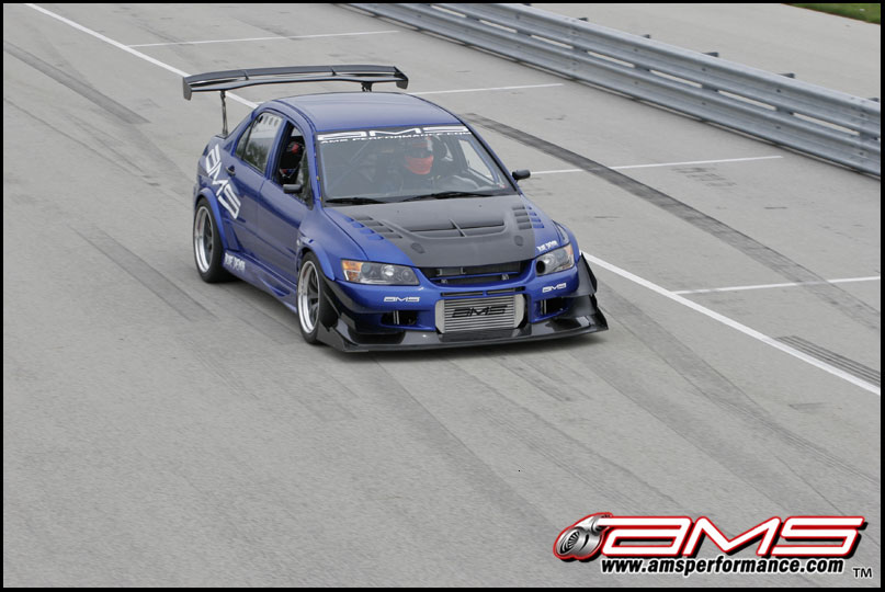 Car Cooling System >> Mitsubishi Evo IX Blue Demon By AMS News - Top Speed