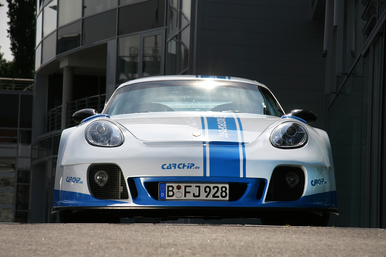 Porsche Cayman X Wide By Xtr Carchip Top Speed