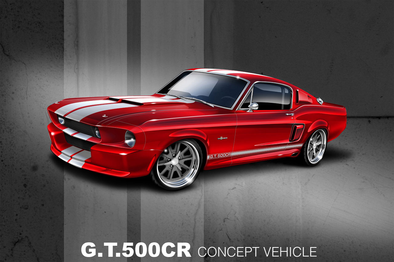 shelby gt500cr by classic recreations top speed. Black Bedroom Furniture Sets. Home Design Ideas