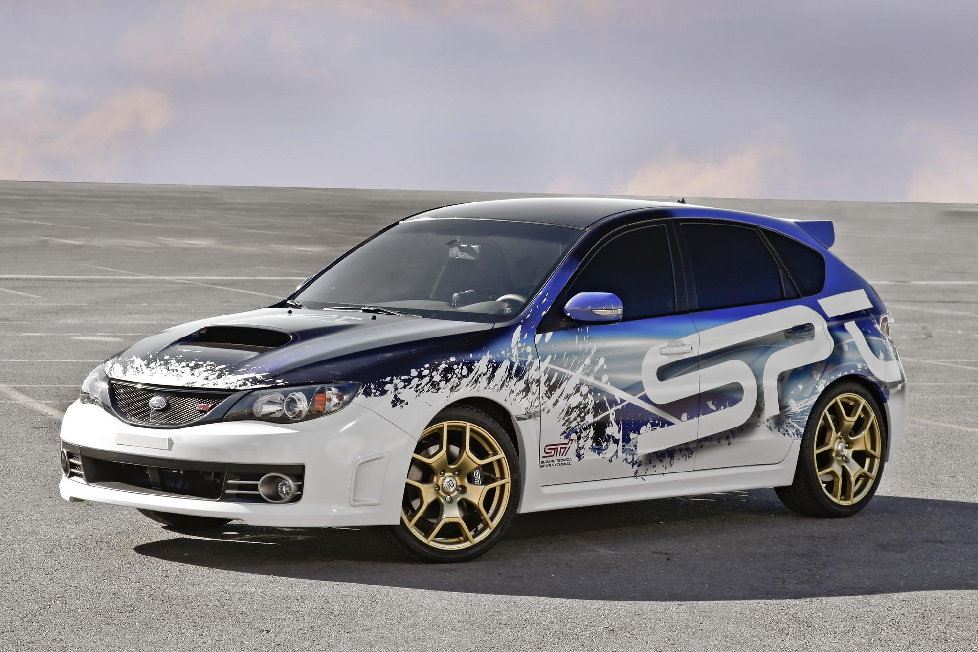 2009 subaru wrx sti by spt pictures photos wallpapers top speed. Black Bedroom Furniture Sets. Home Design Ideas