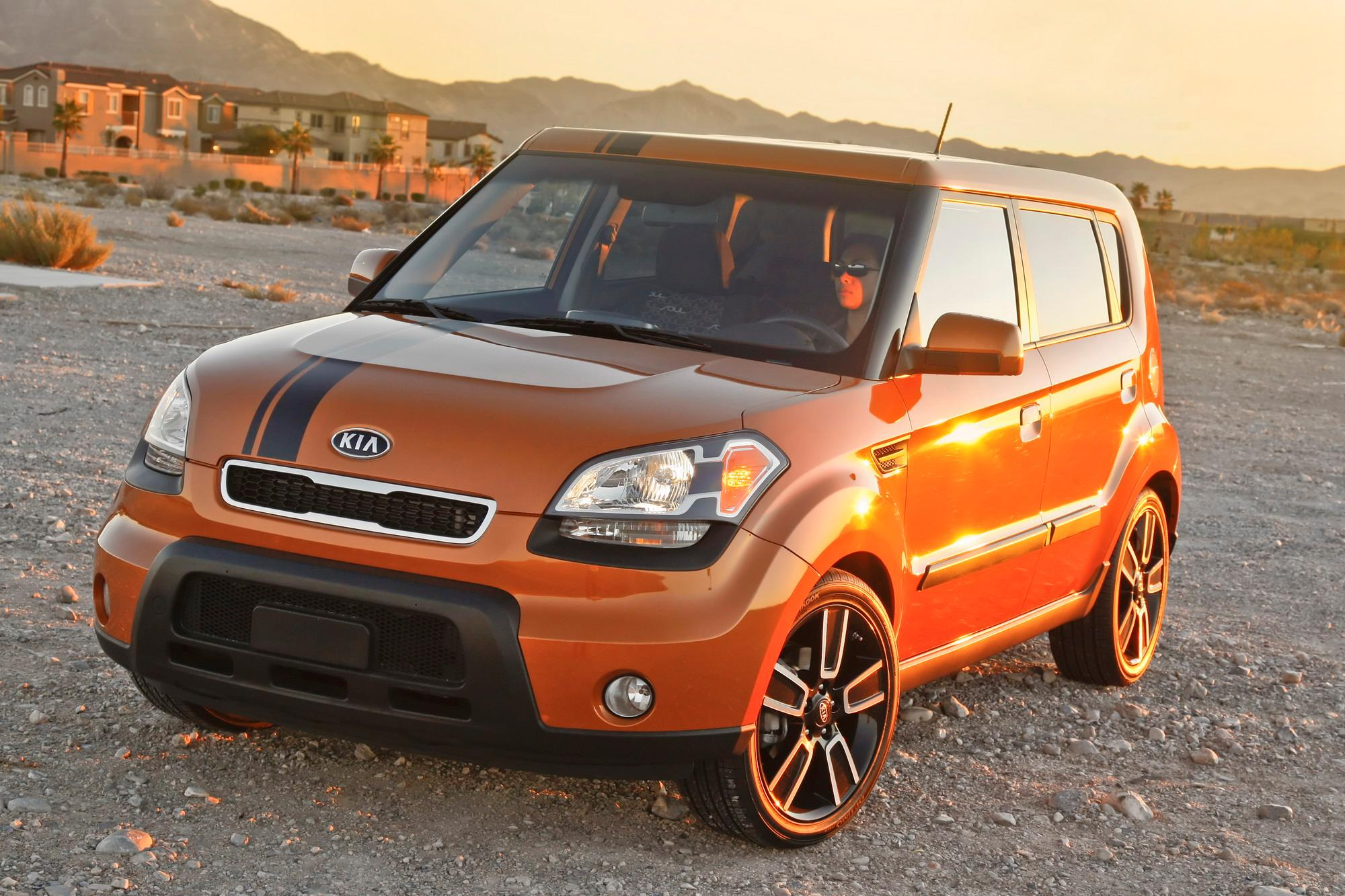 2010 Kia Ignition Soul Top Speed