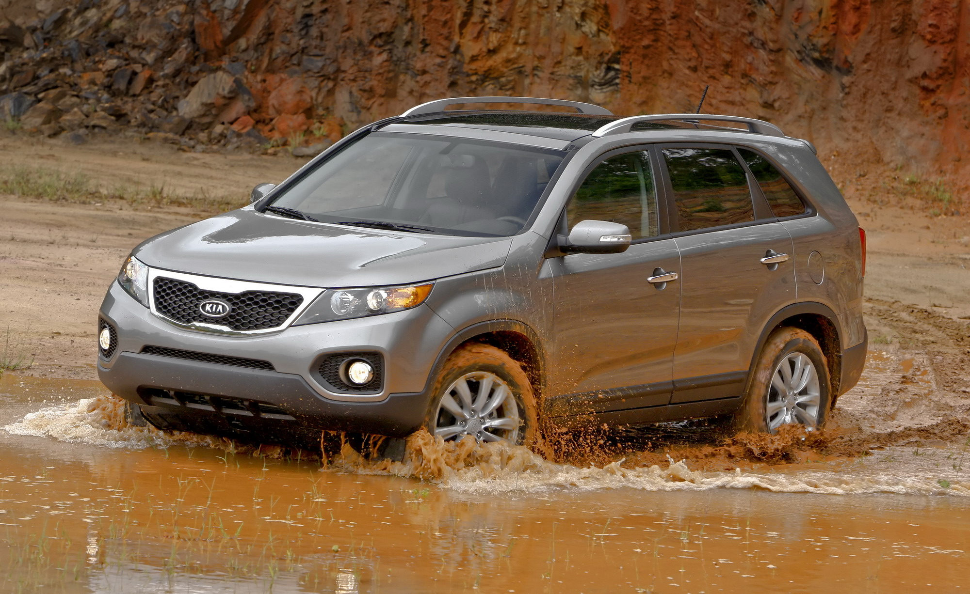 2011 Kia Sorento | Top Speed. »