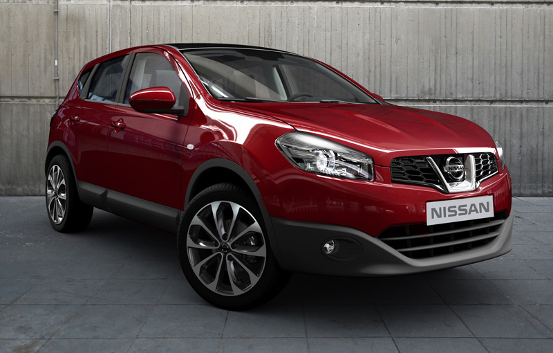 2011 nissan qashqai facelift top speed. Black Bedroom Furniture Sets. Home Design Ideas