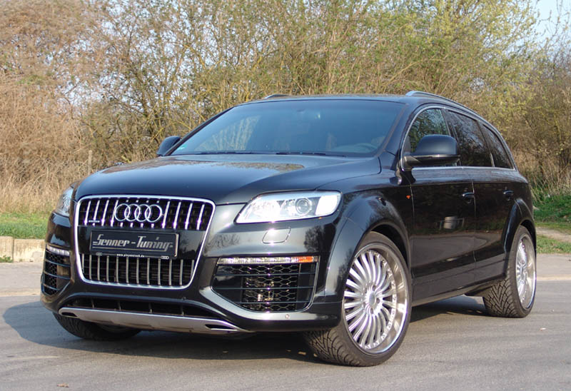 audi q7 by senner tuning news top speed. Black Bedroom Furniture Sets. Home Design Ideas