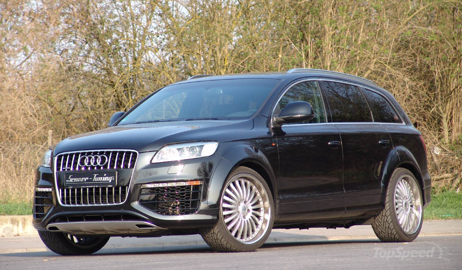 audi q7 by senner tuning picture 338728 car news top. Black Bedroom Furniture Sets. Home Design Ideas