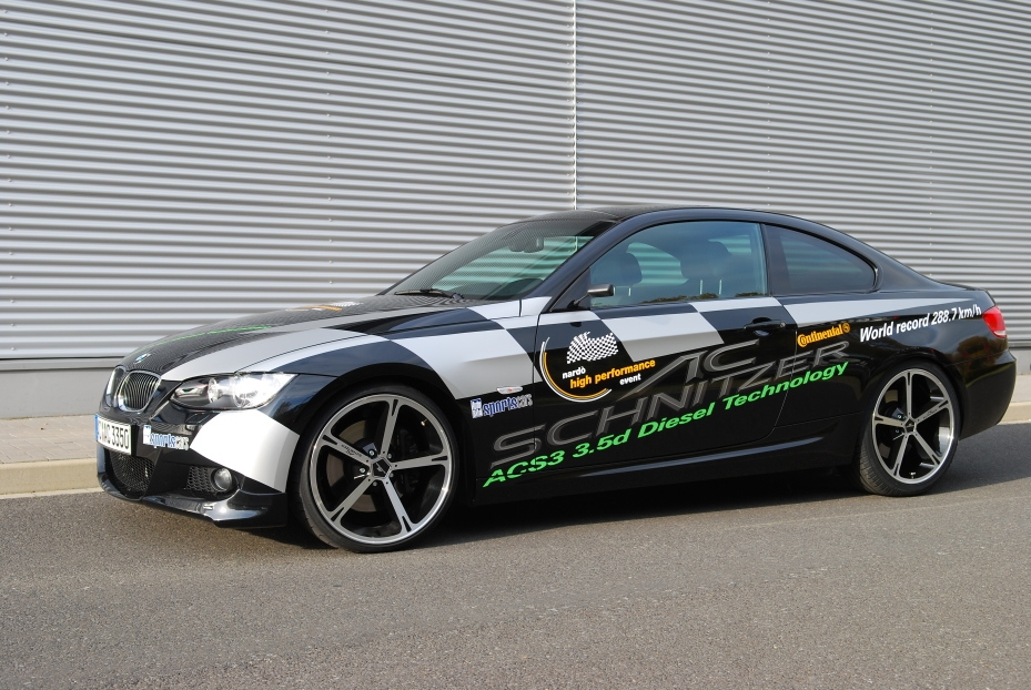 AC Schnitzer BMW 335d Becomes The Fastest Street Legal Diesel At The