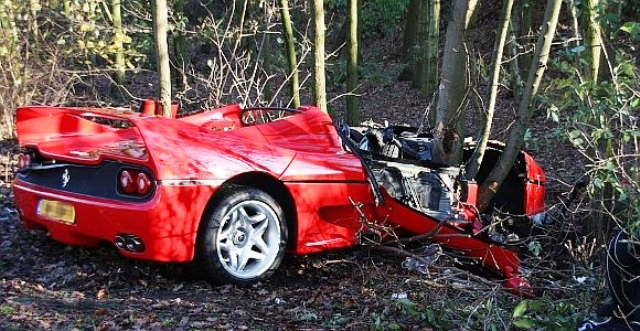 BMW I8 Top Speed >> Ferrari F50 Crashes In The Netherlands | Top Speed