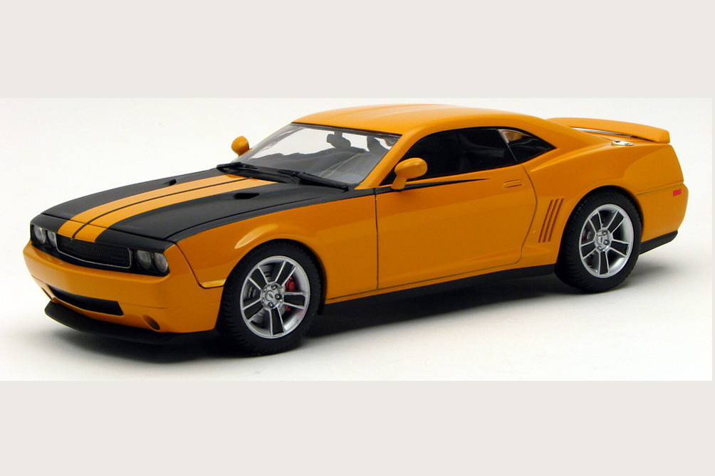 Modeler Creates Scale Model Of The Ultimate Muscle Car News ...