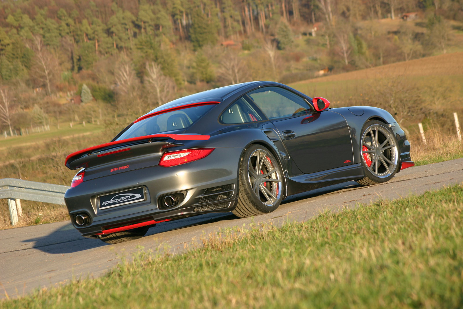 Porsche 911 Turbo Btr Ii By Speedart Top Speed