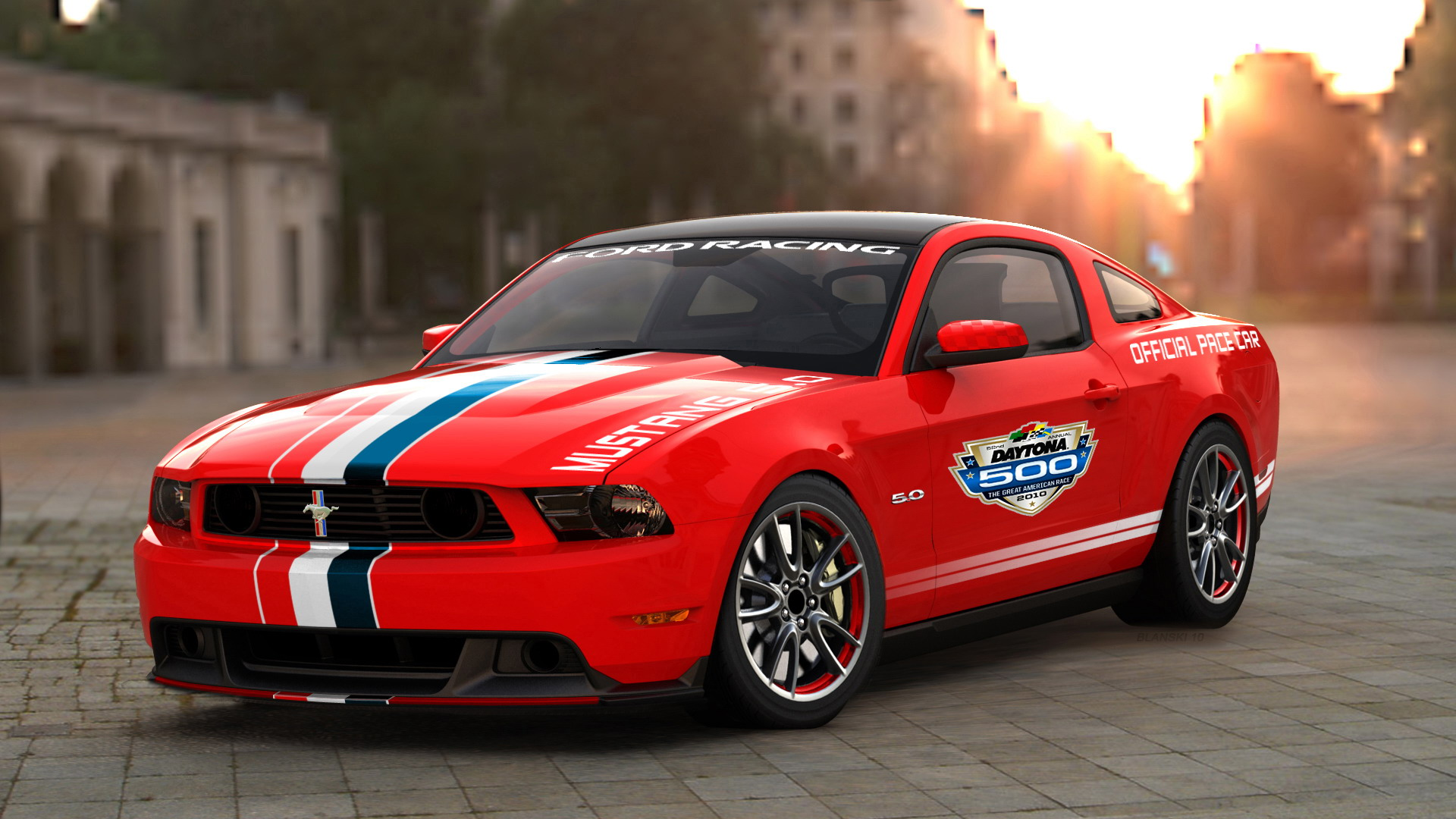 2011 ford mustang gt daytona 500 pace car review top speed. Black Bedroom Furniture Sets. Home Design Ideas