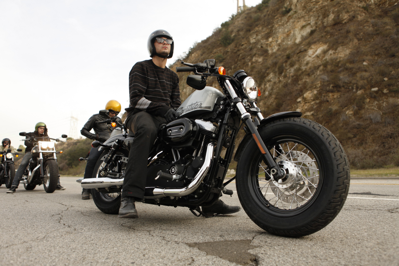2010 Harley Davidson Forty Eight Top Speed