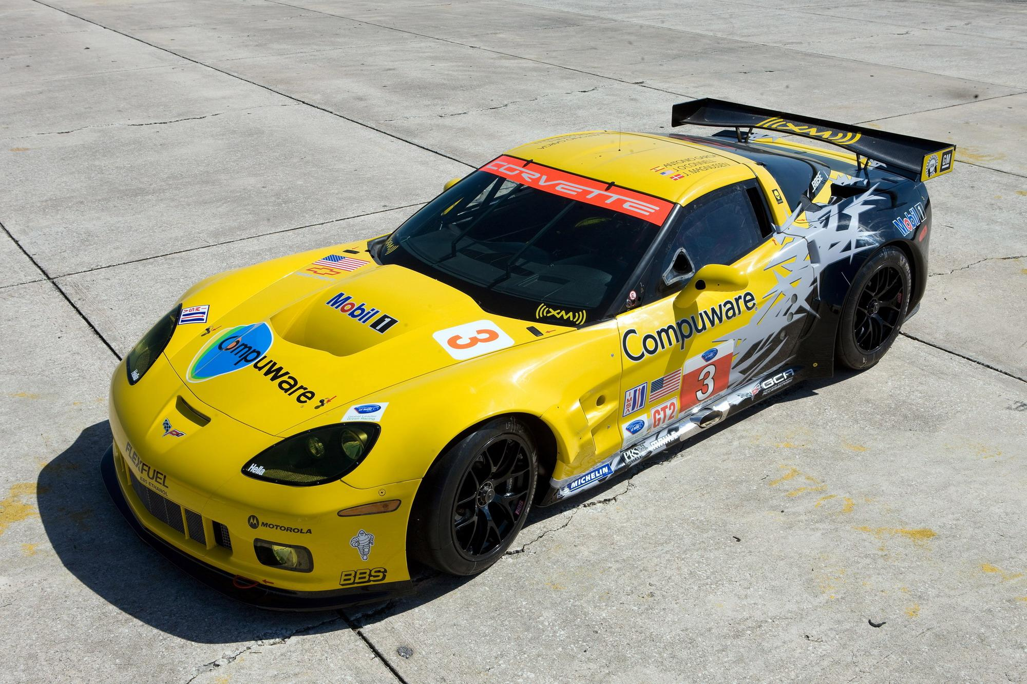 2010 Chevrolet Corvette C6 R Top Speed