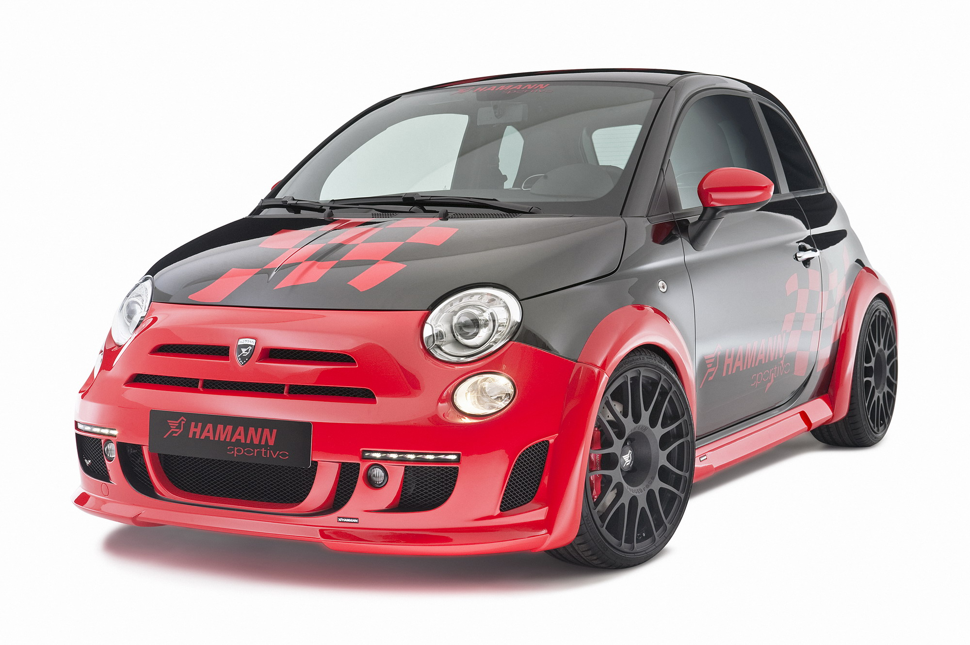 fiat 500 abarth and abarth esseesse by hamann top speed. Black Bedroom Furniture Sets. Home Design Ideas