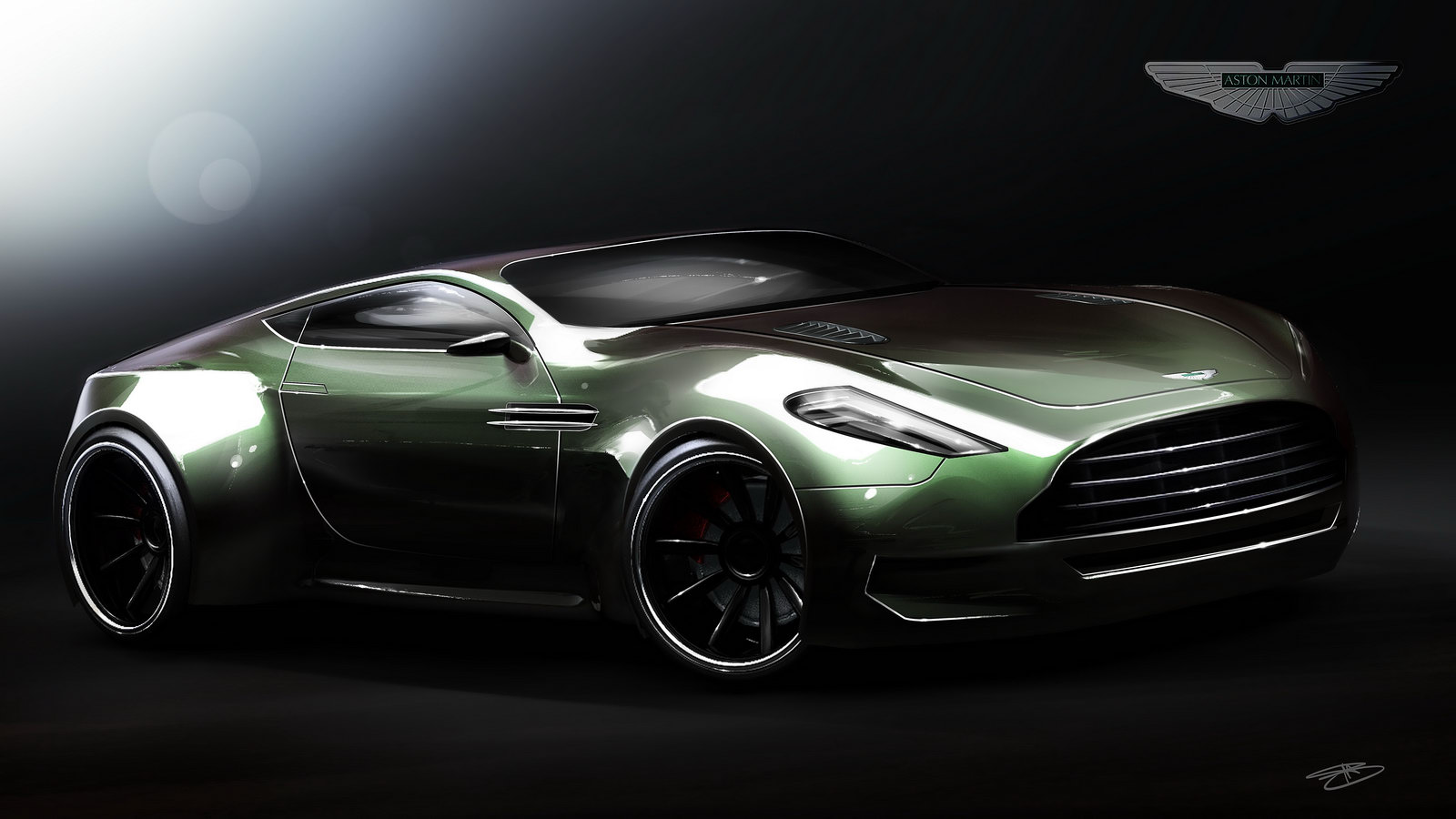 Marouane Bembli's Aston Martin Veloce Concept Design Pictures, Photos, Wallpapers. | Top Speed