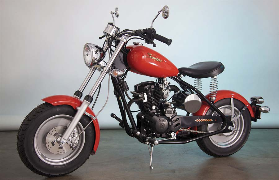 Mustang Motorcycles Revived Top Speed