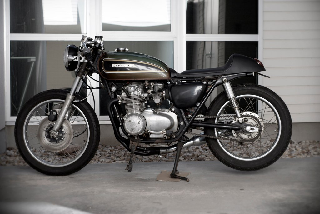 1976 Honda CB550 Café Racer Up For Sale | Top Speed