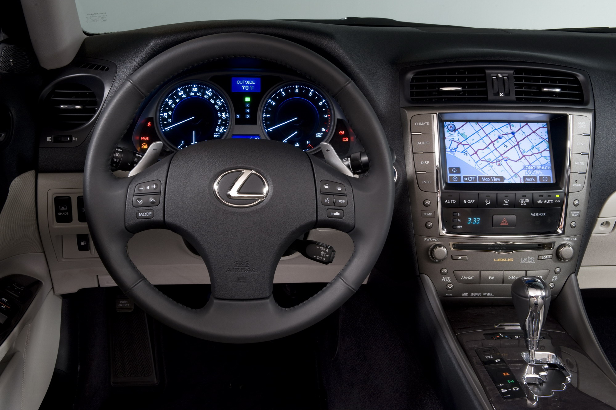 2010 lexus is | top speed