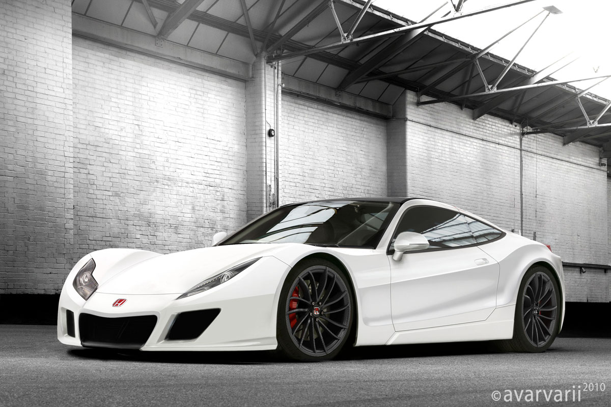 Honda Hsv 010 Gt Racer Road Version Rendering Pictures