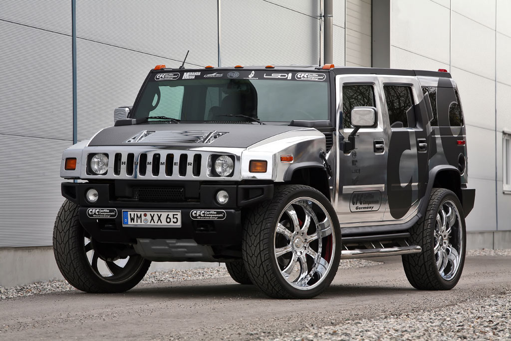 Hummer H2 By CFC   Top Speed