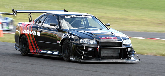 Ford Dealership Queens Octane Racing Nissan Skyline R34 GT-R for World Time Attack Challenge