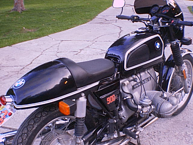 1976 BMW R90 6 Cafe Racer Made The Easy Way