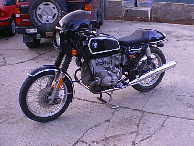 1976 BMW R90 6 Cafe Racer Made The Easy Way Pictures Photos