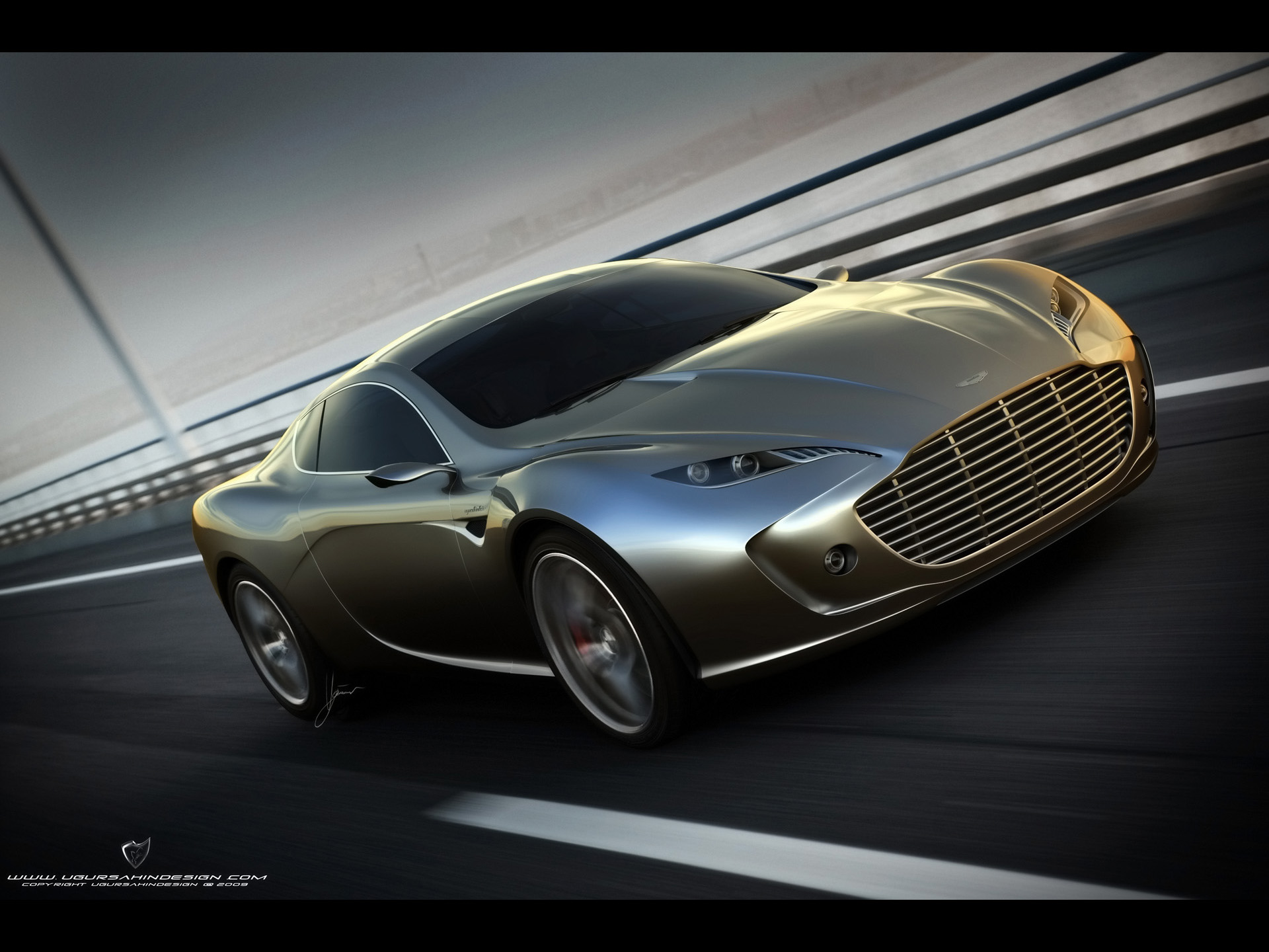 Aston Martin Gauntlet Concept By Ugur Sahin Pictures Photos Wallpapers Top Speed