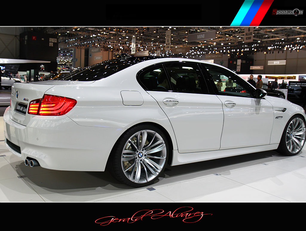 bmw f10 m5 rendering news top speed. Black Bedroom Furniture Sets. Home Design Ideas