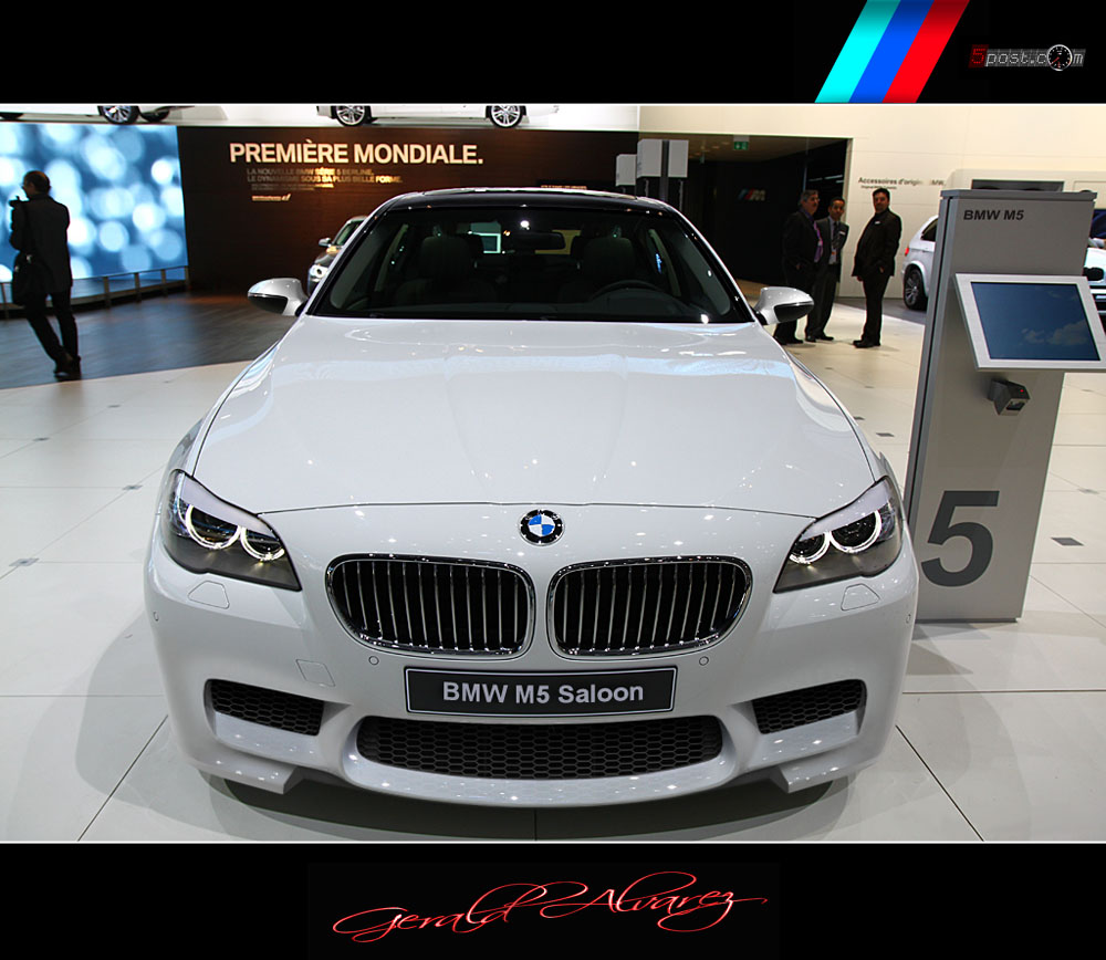 Bmw F10 M5 Rendering Pictures Photos Wallpapers Top Speed