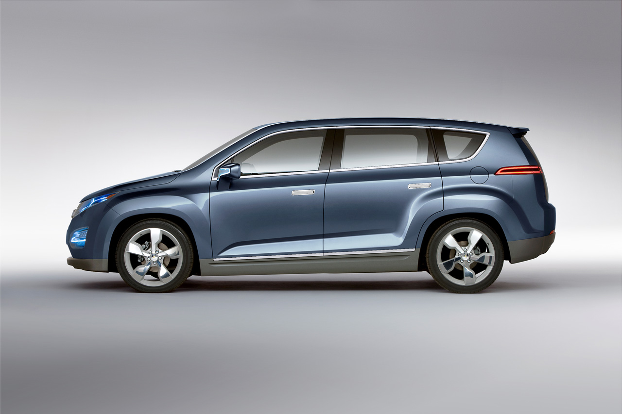 2010 Chevrolet Volt MPV5 Electric Concept | Top Speed. »
