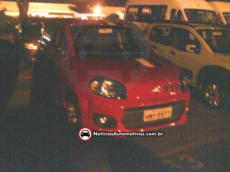 Spy Photos Of 2011 Fiat Uno Snapped In Brazil Pictures Photos