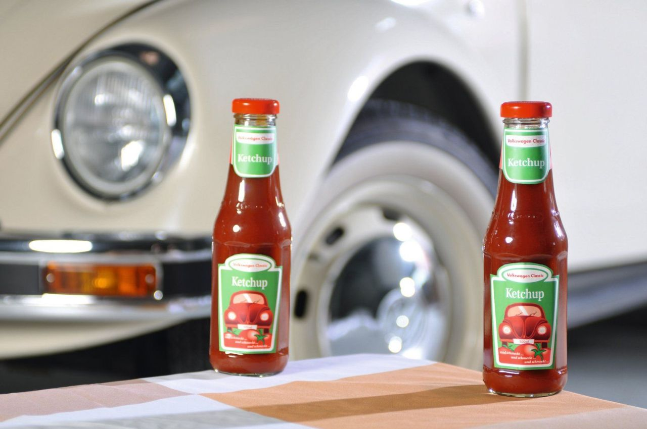 volkswagen releases new ketchup line at the techno. Black Bedroom Furniture Sets. Home Design Ideas