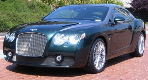 Rare Bentley Continental Gtz Zagato Is Back On The Market