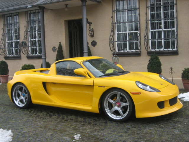 Carrera Gt Bodykit Wearing Porsche Boxster Gt For Sale To