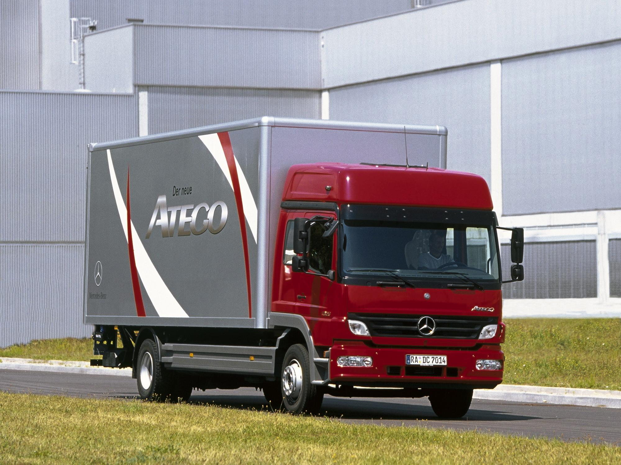 Mercedes Atego | Top Speed