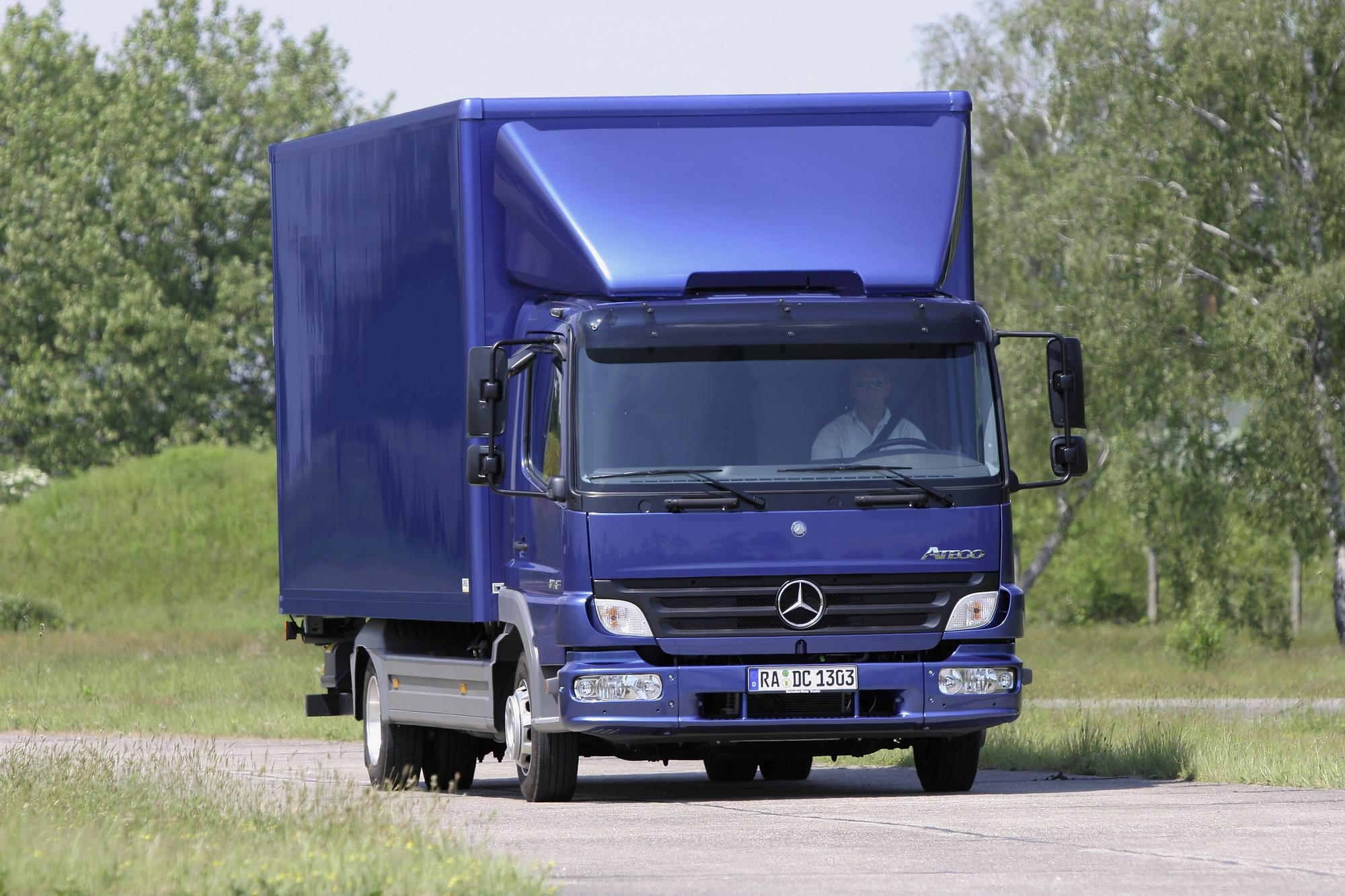 Mercedes Atego | Top Speed. »