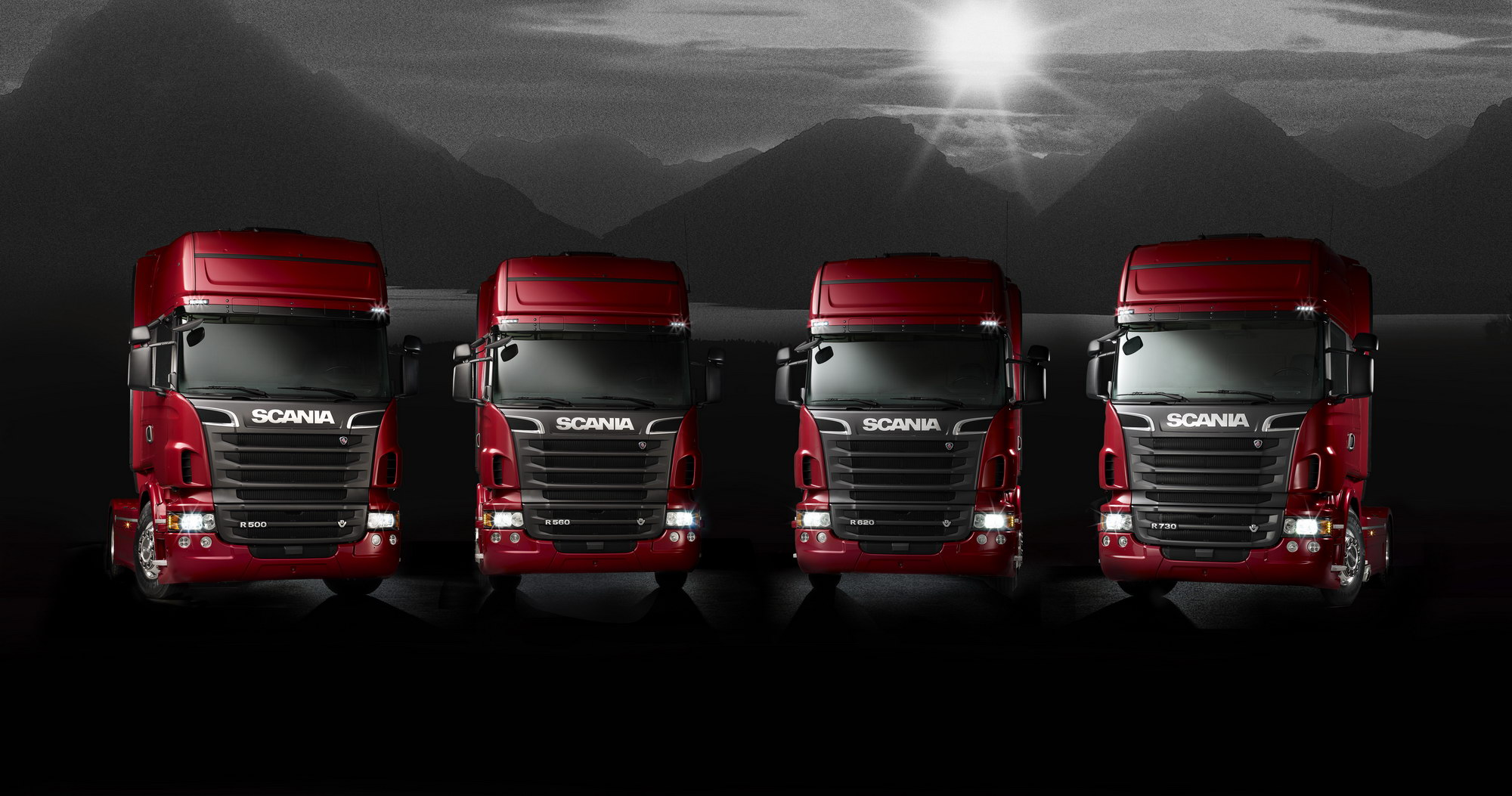 Scania V8 Truck Range Pictures Photos Wallpapers Top