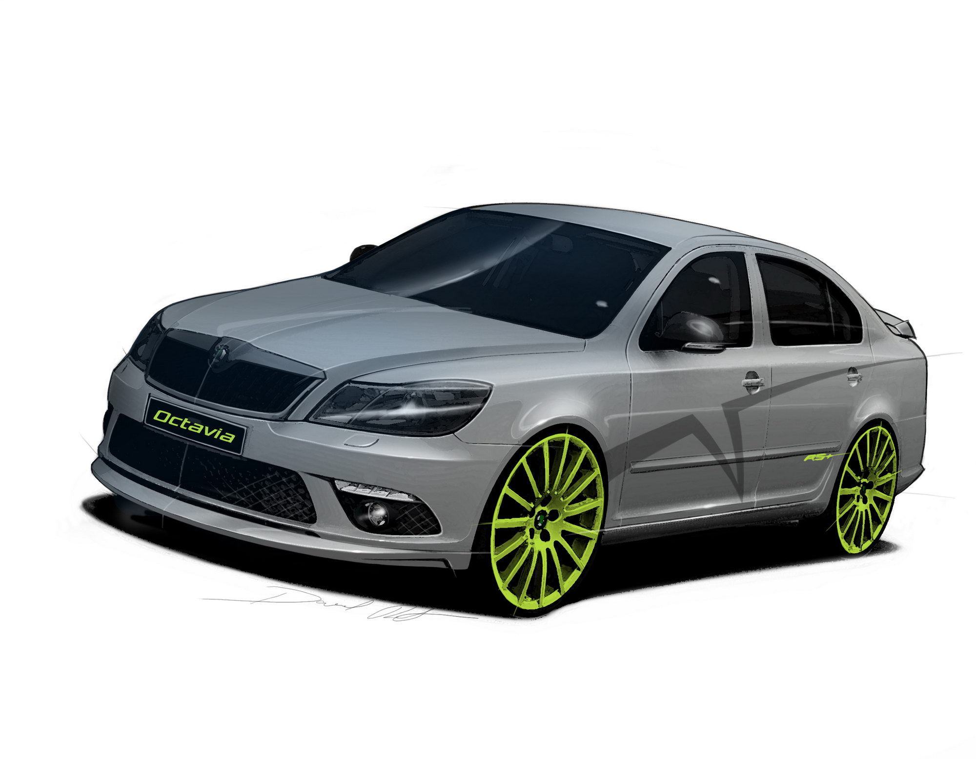 skoda octavia rs and fabia rs to be revealed at. Black Bedroom Furniture Sets. Home Design Ideas