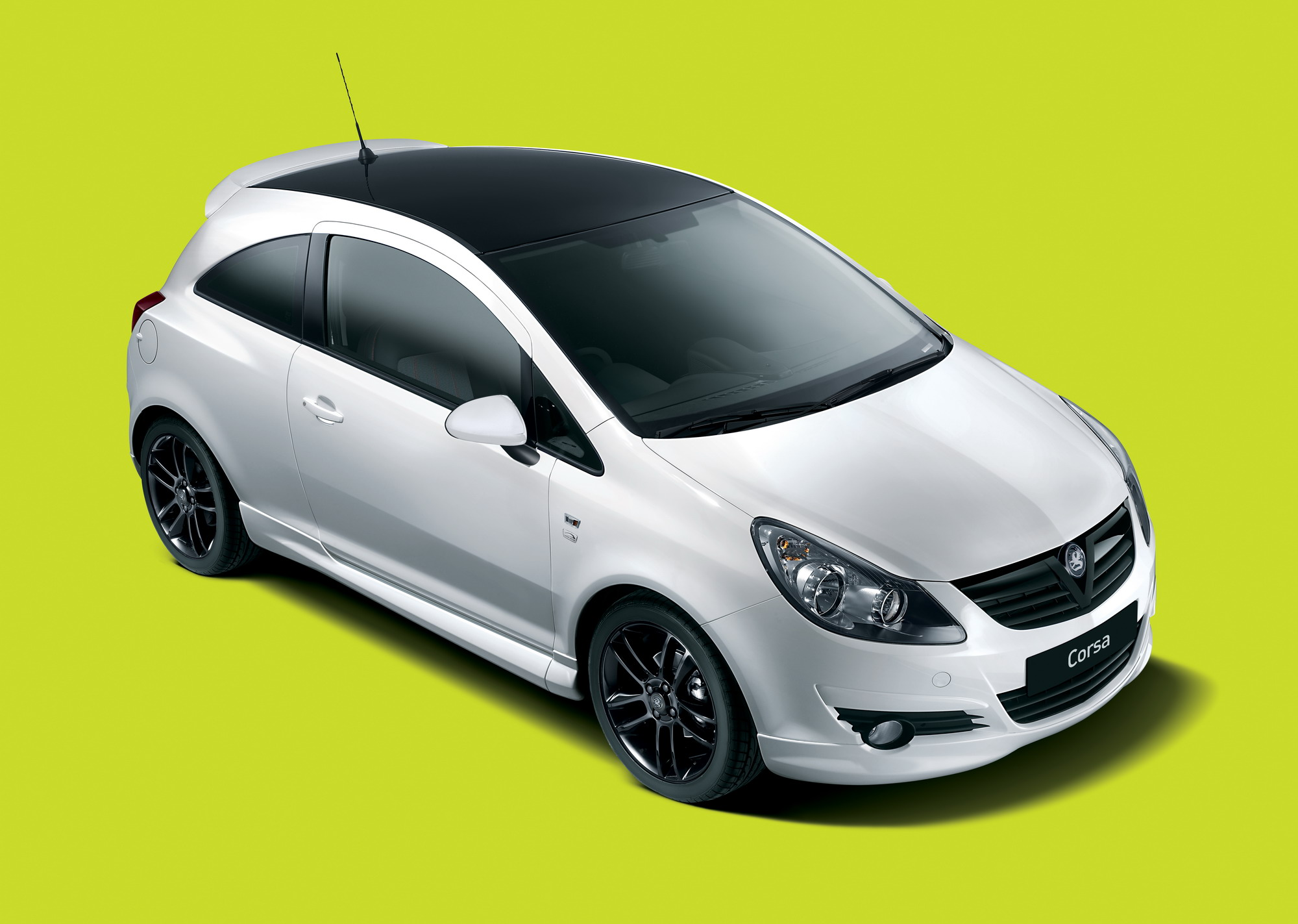 2010 Vauxhall Corsa Black And White Limited Edition Top