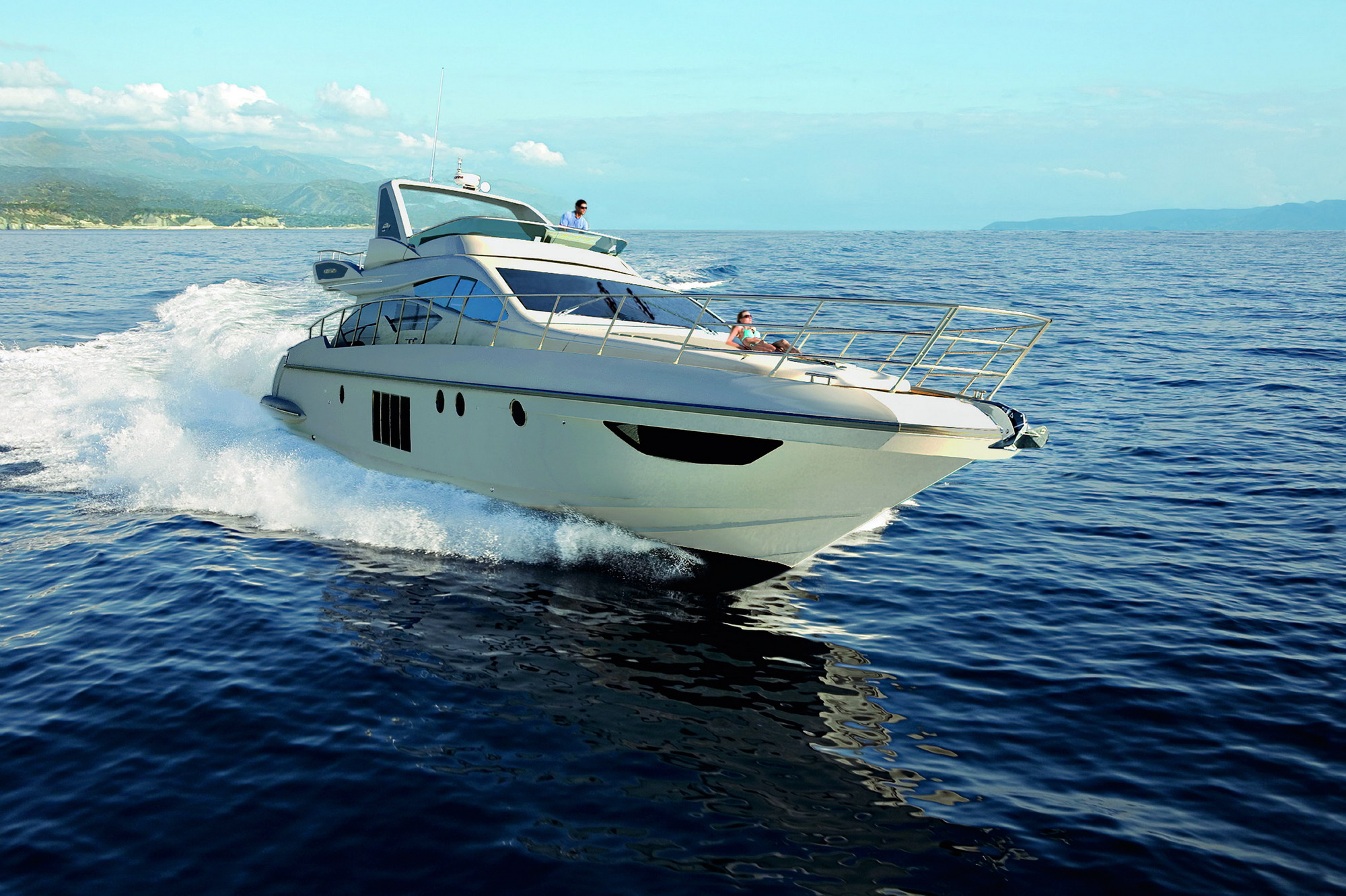 azimut 64 review top speed. Black Bedroom Furniture Sets. Home Design Ideas